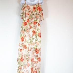 Suzy Shier Dresses - Suzy Shier,  on/off shoulder maxi dress.
